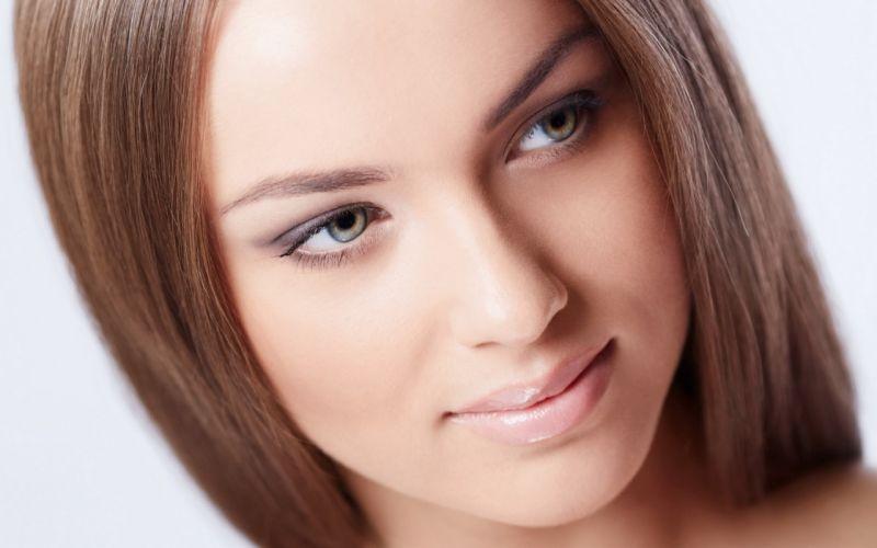 Girl Woman Beautyful Blonde Blue Eyes wallpaper