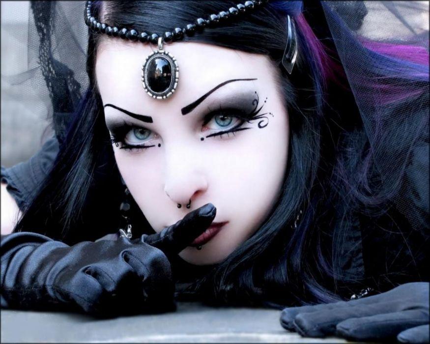 darkness gothic female beauty dark wallpaper