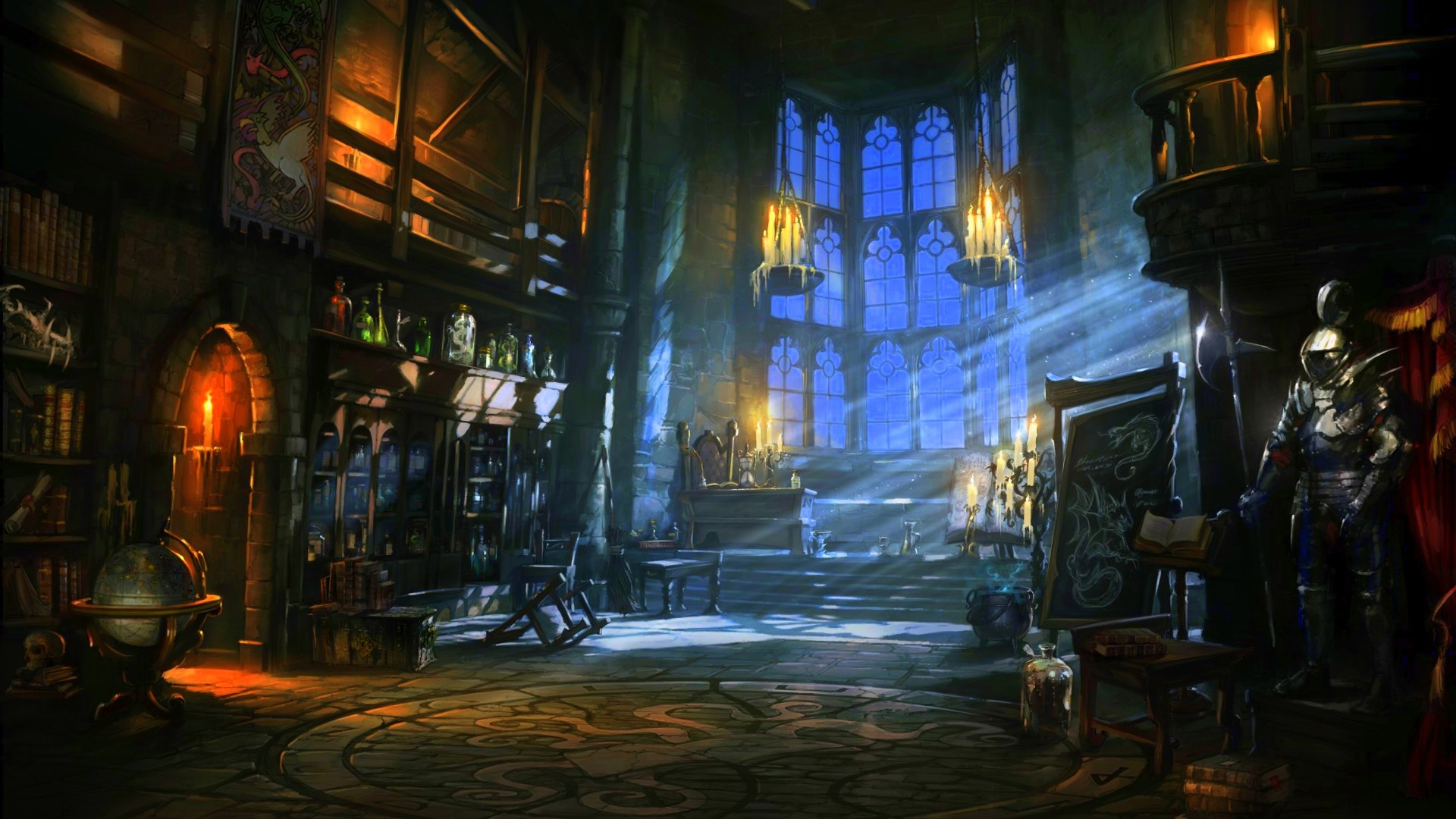 fantasy art wizard castle - photo #39