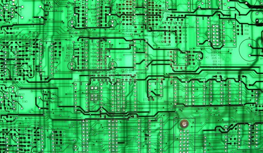 Green Circuit Board wallpaper