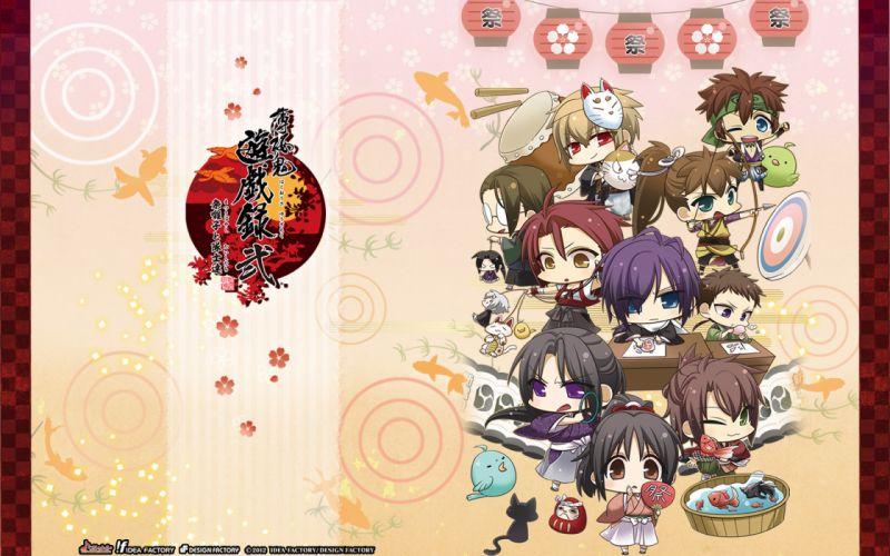 Hakuouki Shinsengumi Kitan d wallpaper
