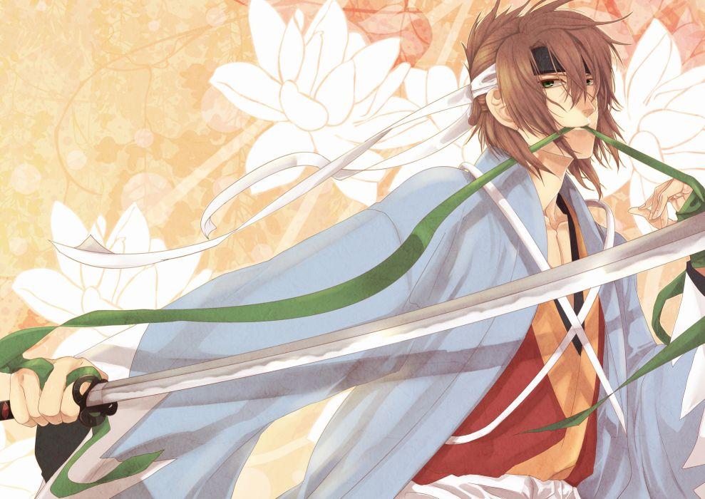 Hakuouki Shinsengumi Kitan Okita Souji H Wallpaper 3541x2508 118986 Wallpaperup