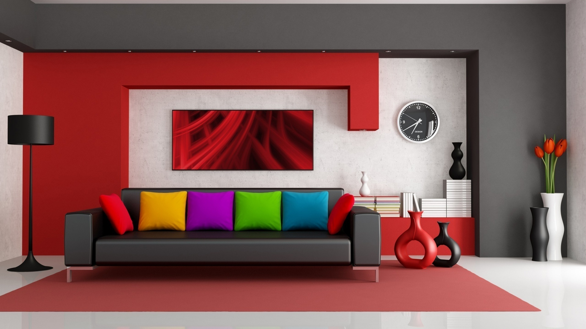 Interior design room rooms furniture f wallpaper 1920x1080