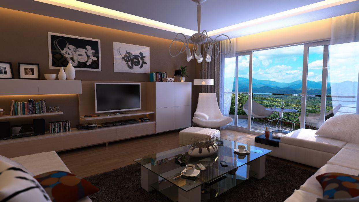 interior design room rooms furniture wallpaper