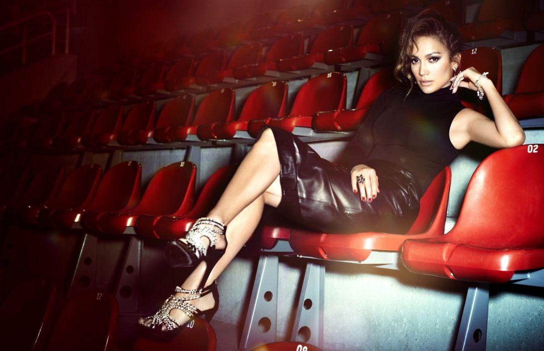 Jennifer Lopez Chairs Celebrities Girls wallpaper