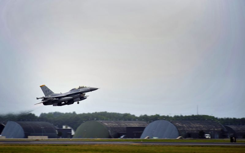 Jet Takeoff military wallpaper