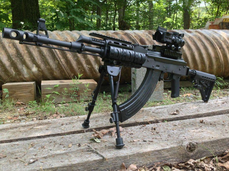 machine gun  hand  PKK  Kalashnikov weapon weapons military wallpaper