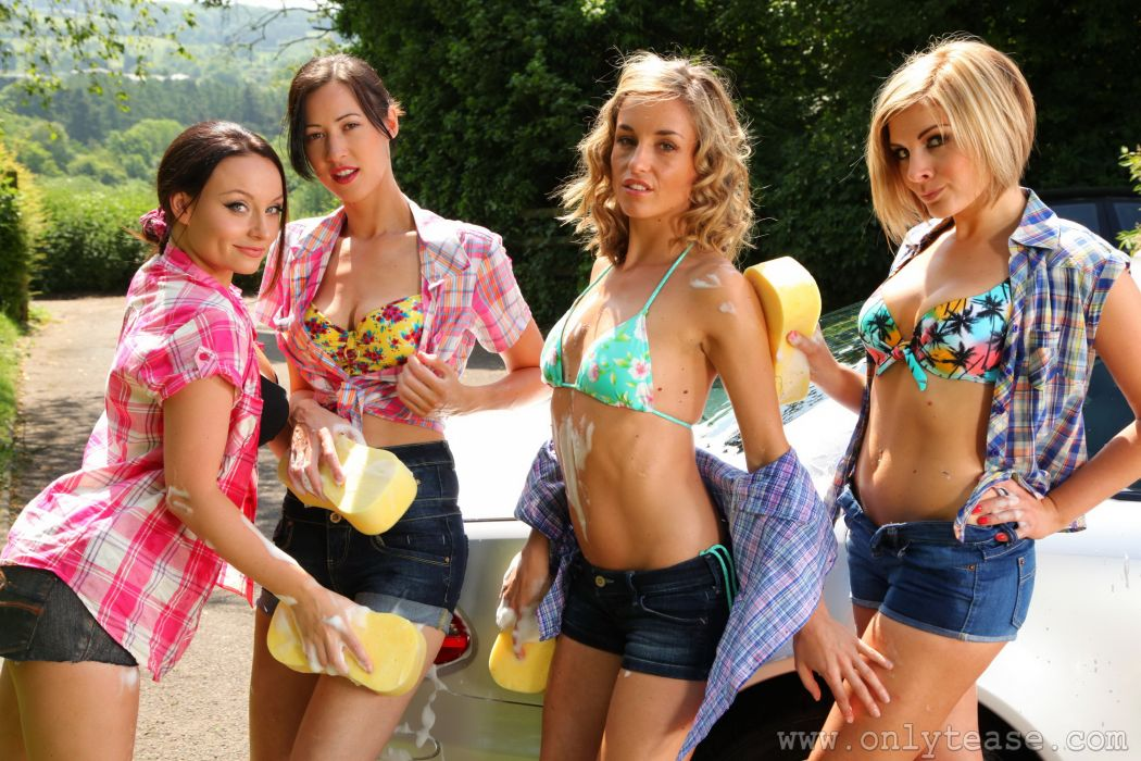 Melanie walsh Carla Brown Naomi K Rosie W Shorts Formal shirt Bra Girls wallpaper