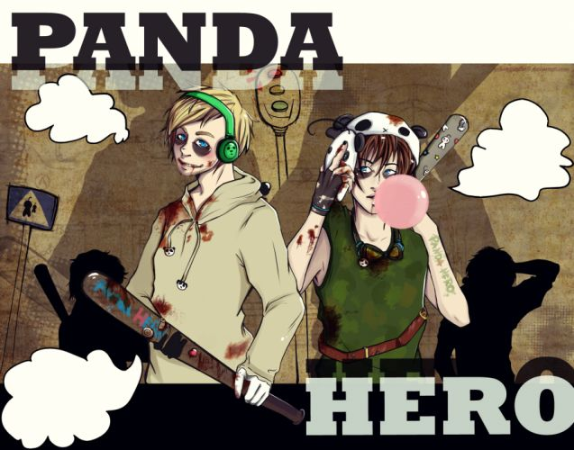 Panda Hero youtube wallpaper