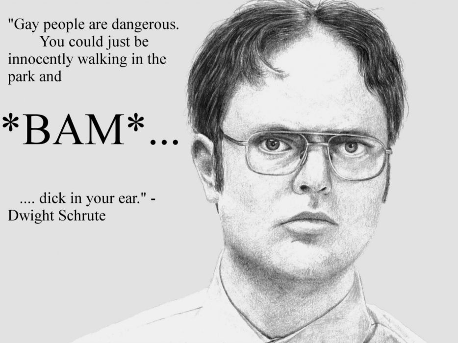 Quotes Funny The Office Dwight Schrute Drawings Knowledge Quotes