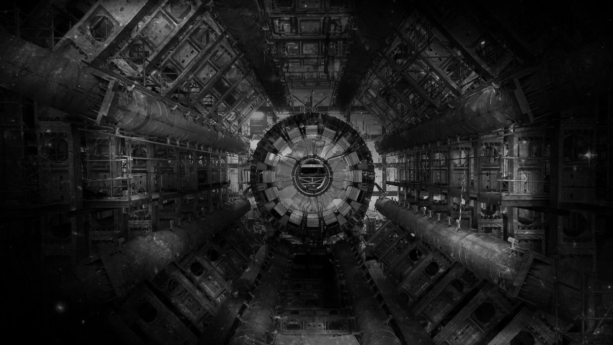 science large hadron collider historic Industry sci-fi wallpaper