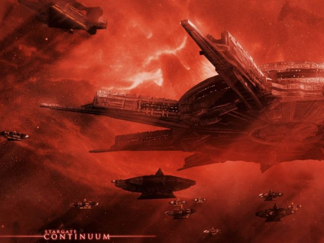science fiction stargate spaceship wallpaper