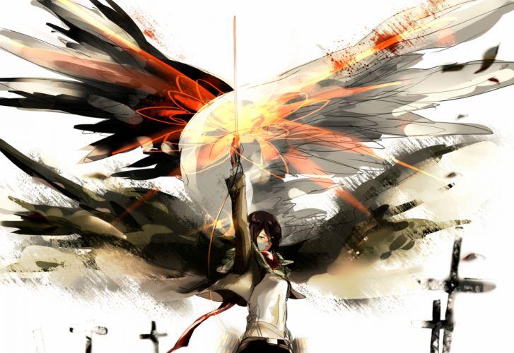 Shingeki no Kyojin Mikasa Ackerman f wallpaper