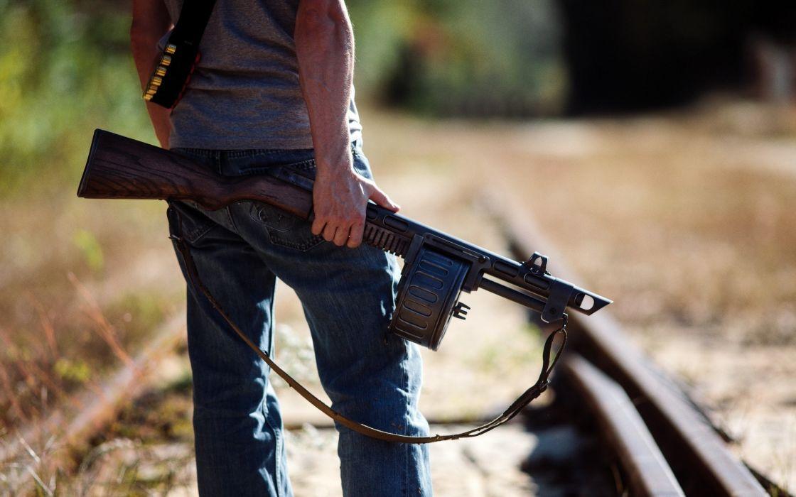 Shotgun weapon weapons anarchy dark gun guns wallpaper