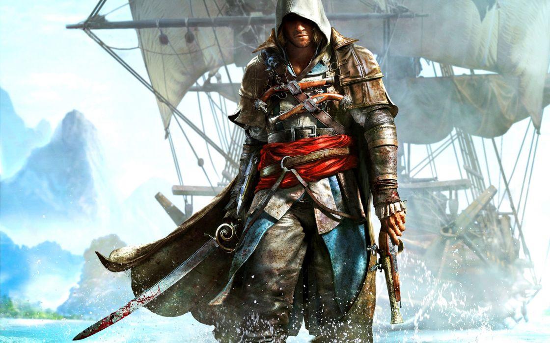 Assassins Creed Iv Black Flag Wallpaper 1920x1200 119296 Wallpaperup