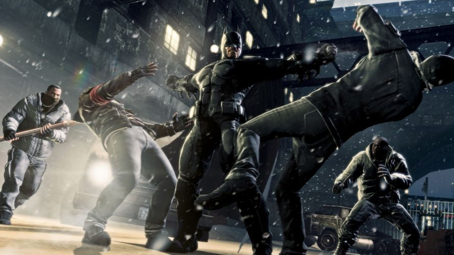 Batman Arkham Origins superhero f wallpaper