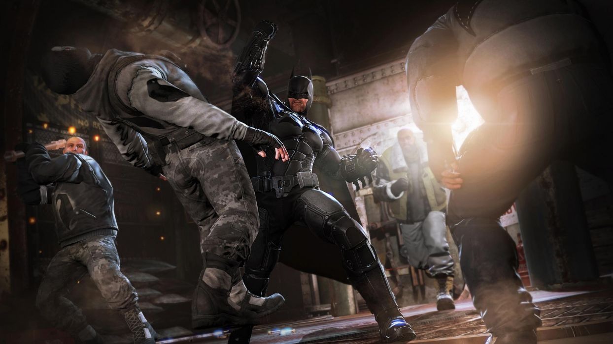 Batman Arkham Origins superhero e wallpaper