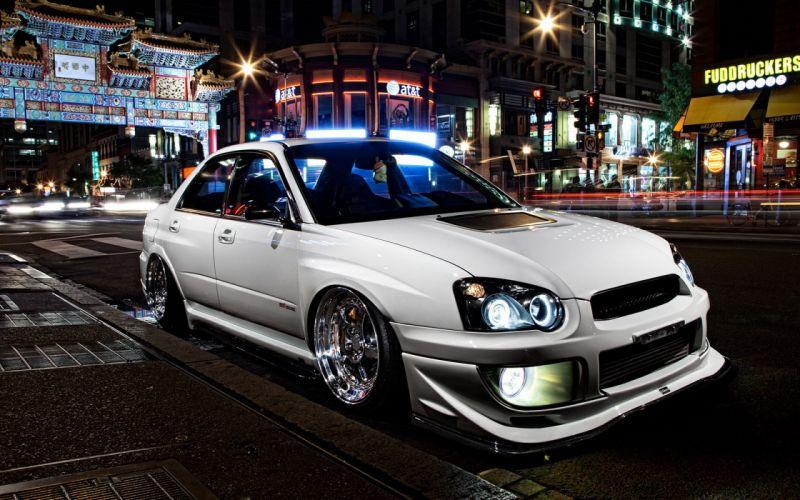 Subaru WRX tuning wallpaper