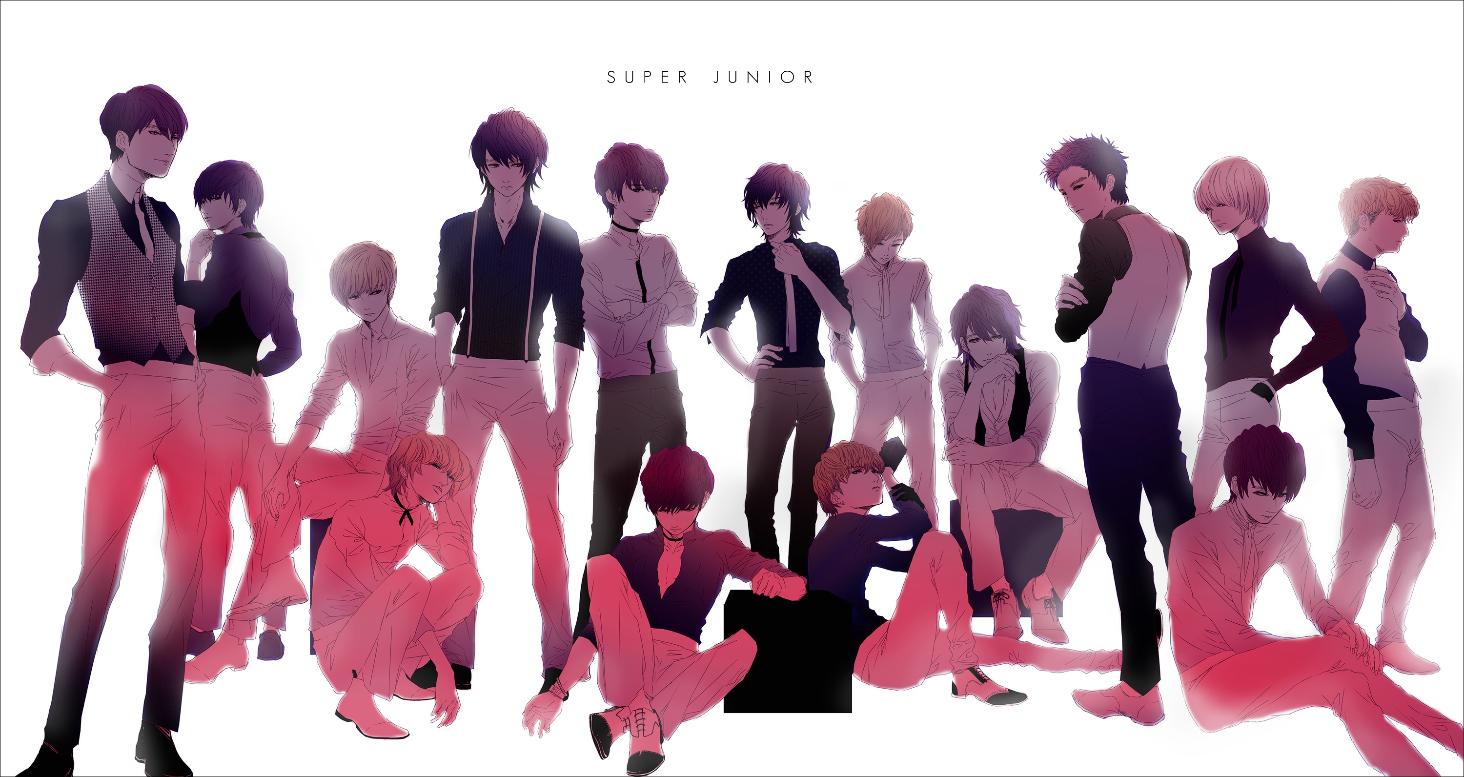 Super Junior music wallpaper  3000x1592  119320  WallpaperUP