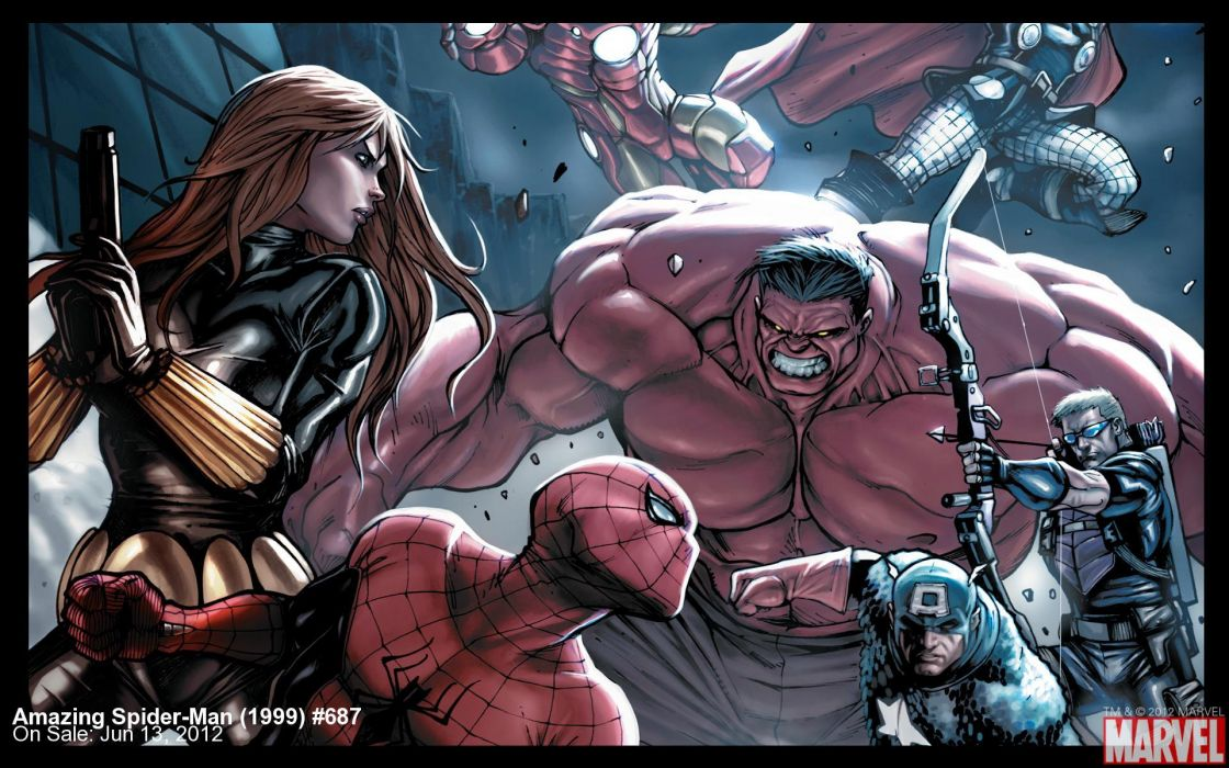 The Amazing Spider-Man Avengers spider spiderman wallpaper