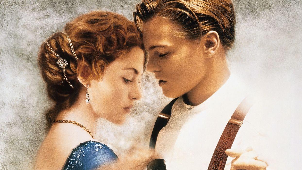 Titanic Leonardo DiCaprio Kate Winslet wallpaper