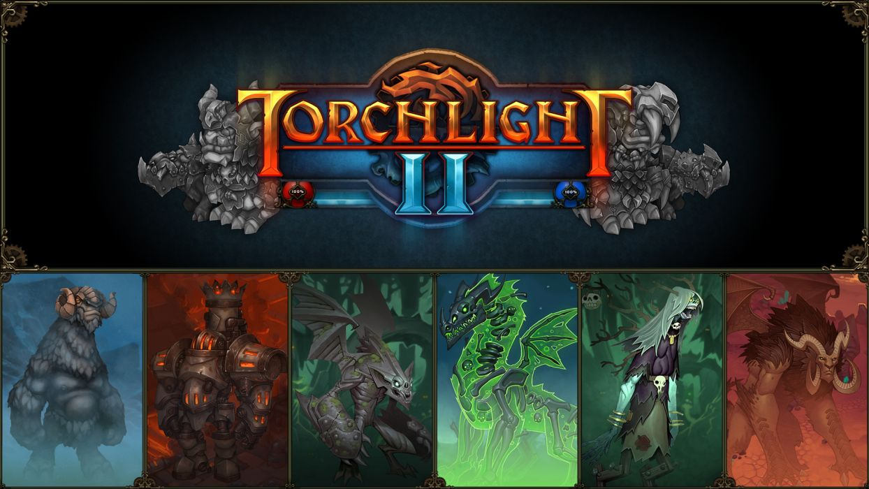Torchlight wallpaper