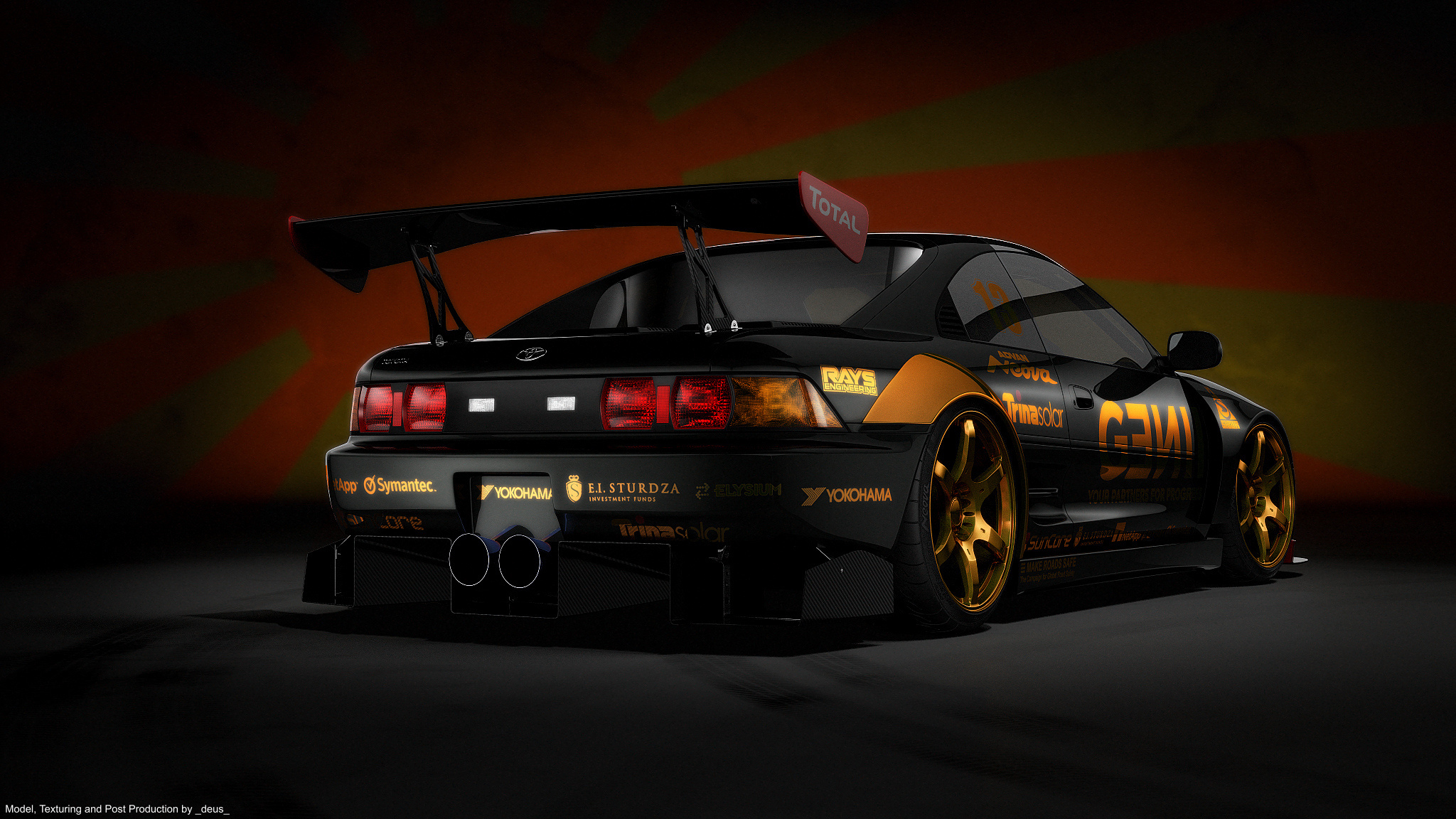 toyota mr2 tuning auto g wallpaper 2048x1152 119350. Black Bedroom Furniture Sets. Home Design Ideas