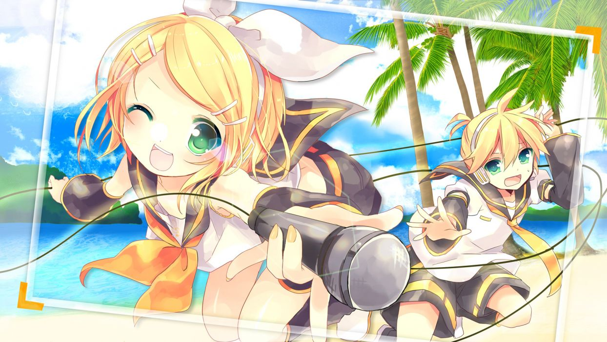 Vocaloid Kagamine Twins      6 wallpaper