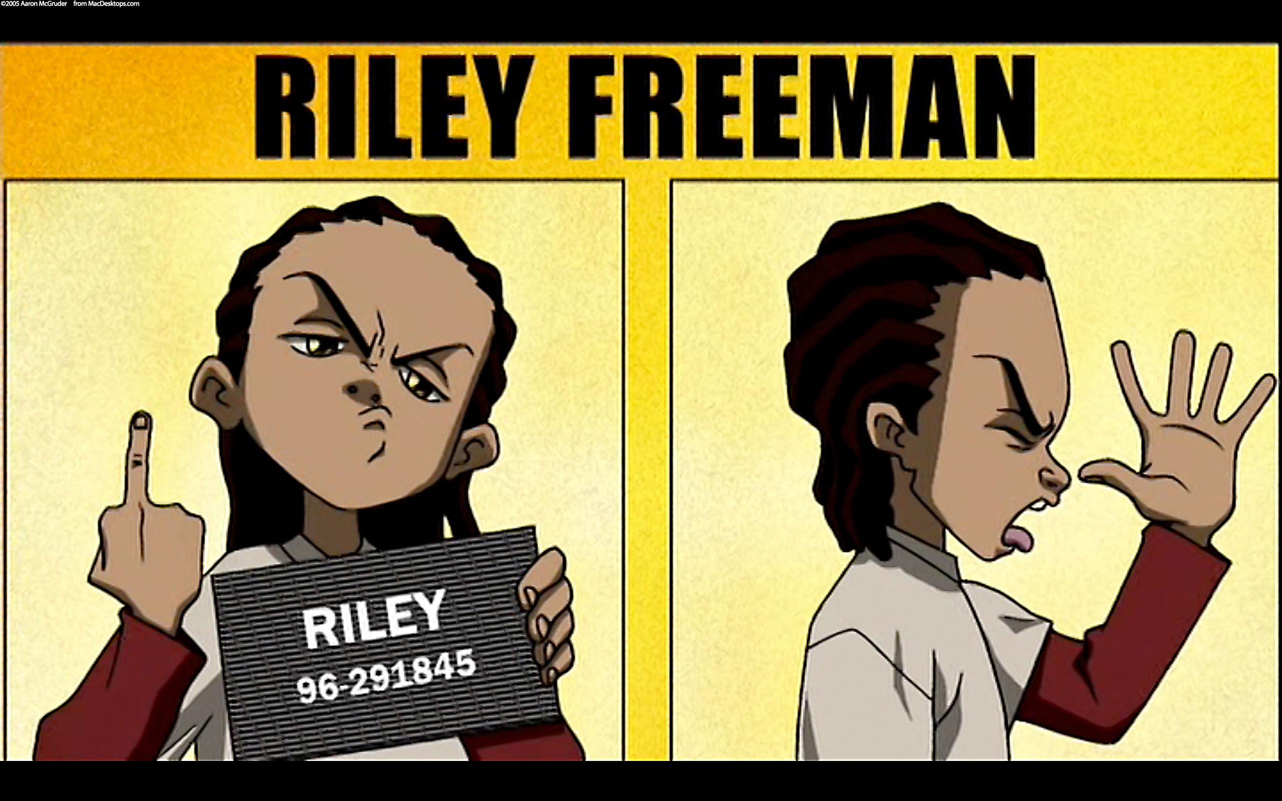 Riley Freeman Boondocks, Boondocks season 1, Intro youtube