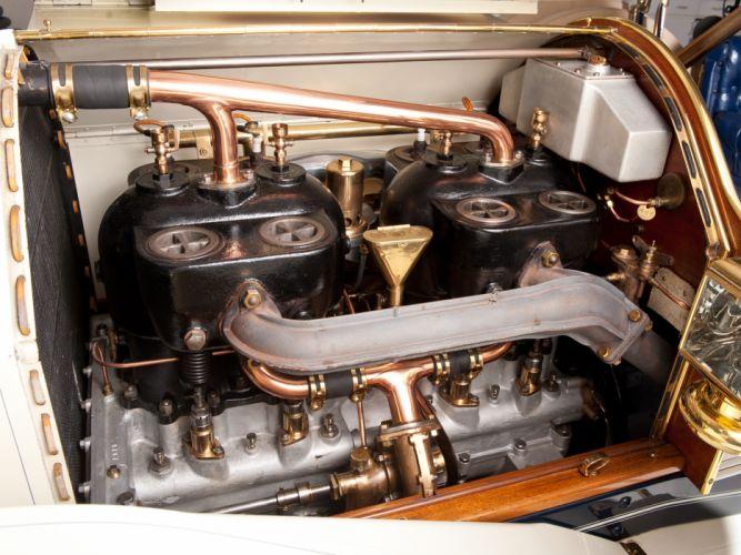 1911 Simplex Model-50 4-passenger Tourabout retro engine engines r wallpaper