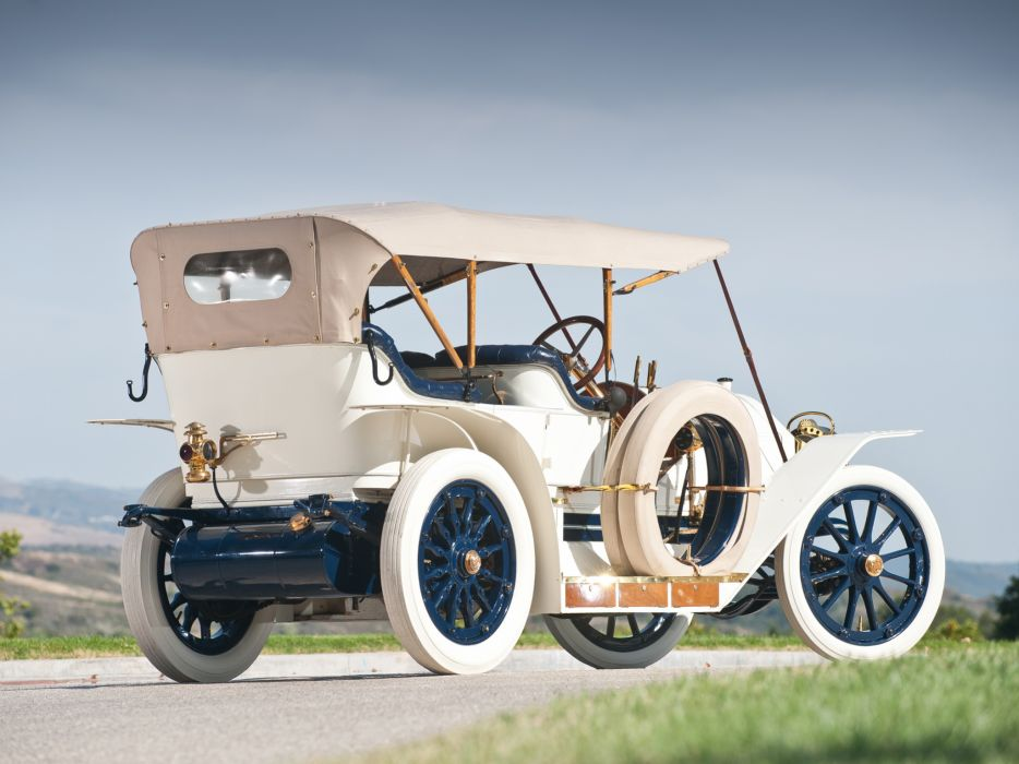 1911 Simplex Model-50 4-passenger Tourabout retro wallpaper