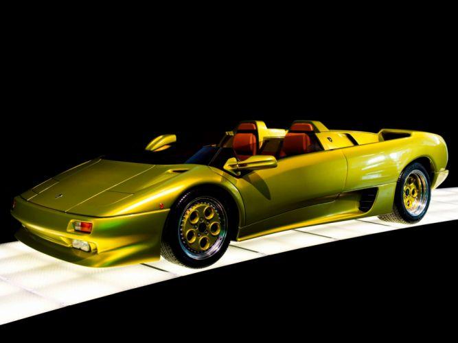 1992 Lamborghini Diablo Roadster supercars supercar wallpaper