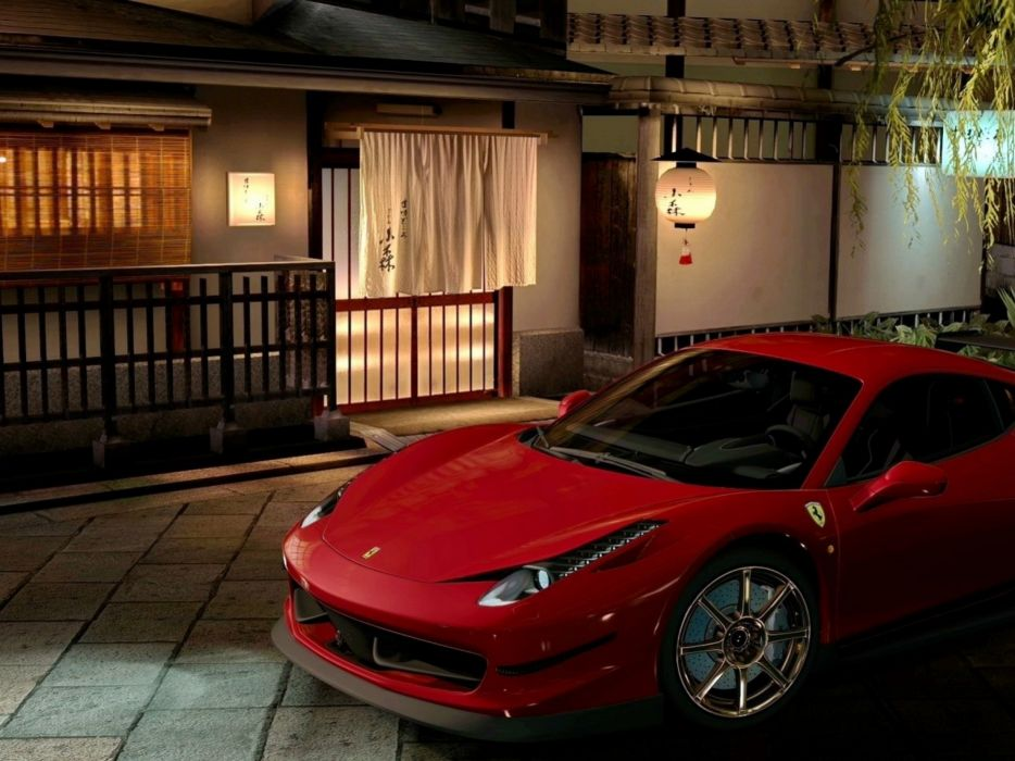 Ferrari Pagani wallpaper