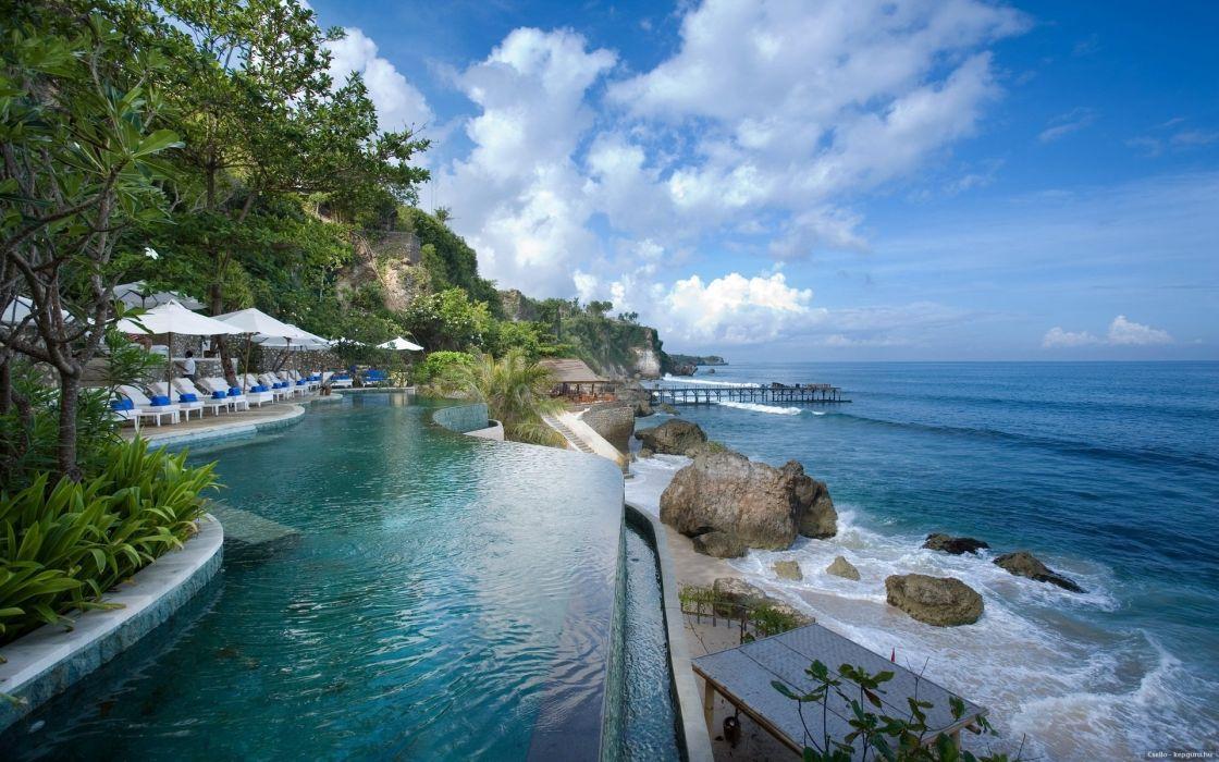 Bali Indonesia Basin Summer Sea G Wallpaper 1920x1200