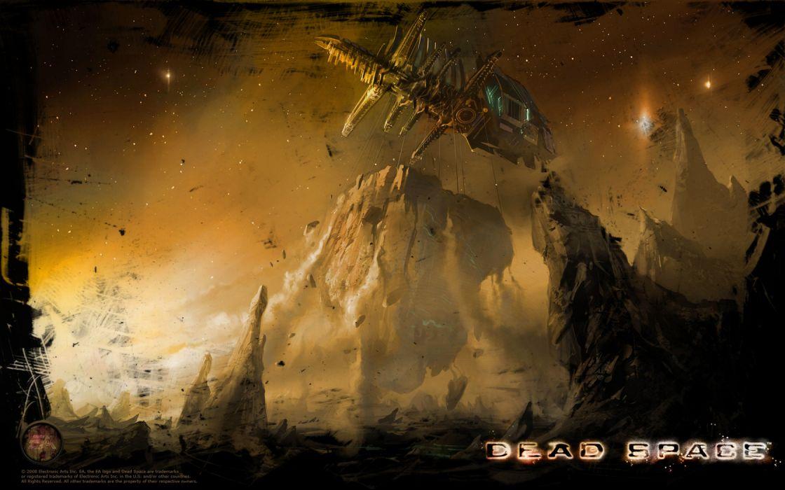 Dead Space sci-fi f wallpaper