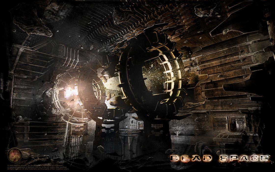 dead space sci-fi wallpaper