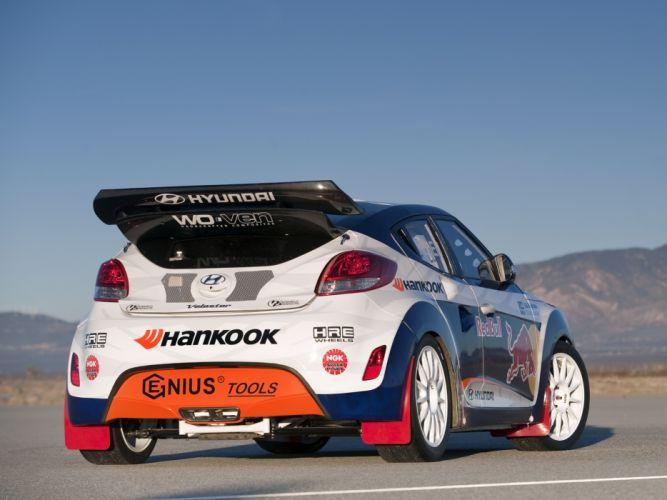 2011 Hyundai Veloster Rally race racing g wallpaper