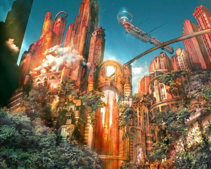 Fantastic world Fantasy   f wallpaper