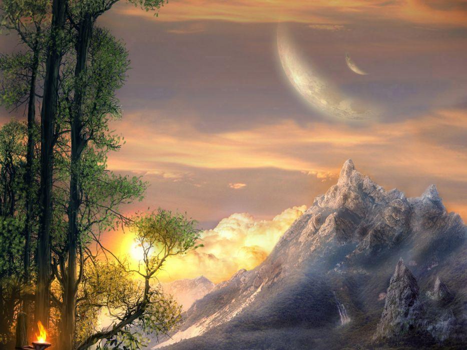 Fantastic world Fantasy   g wallpaper