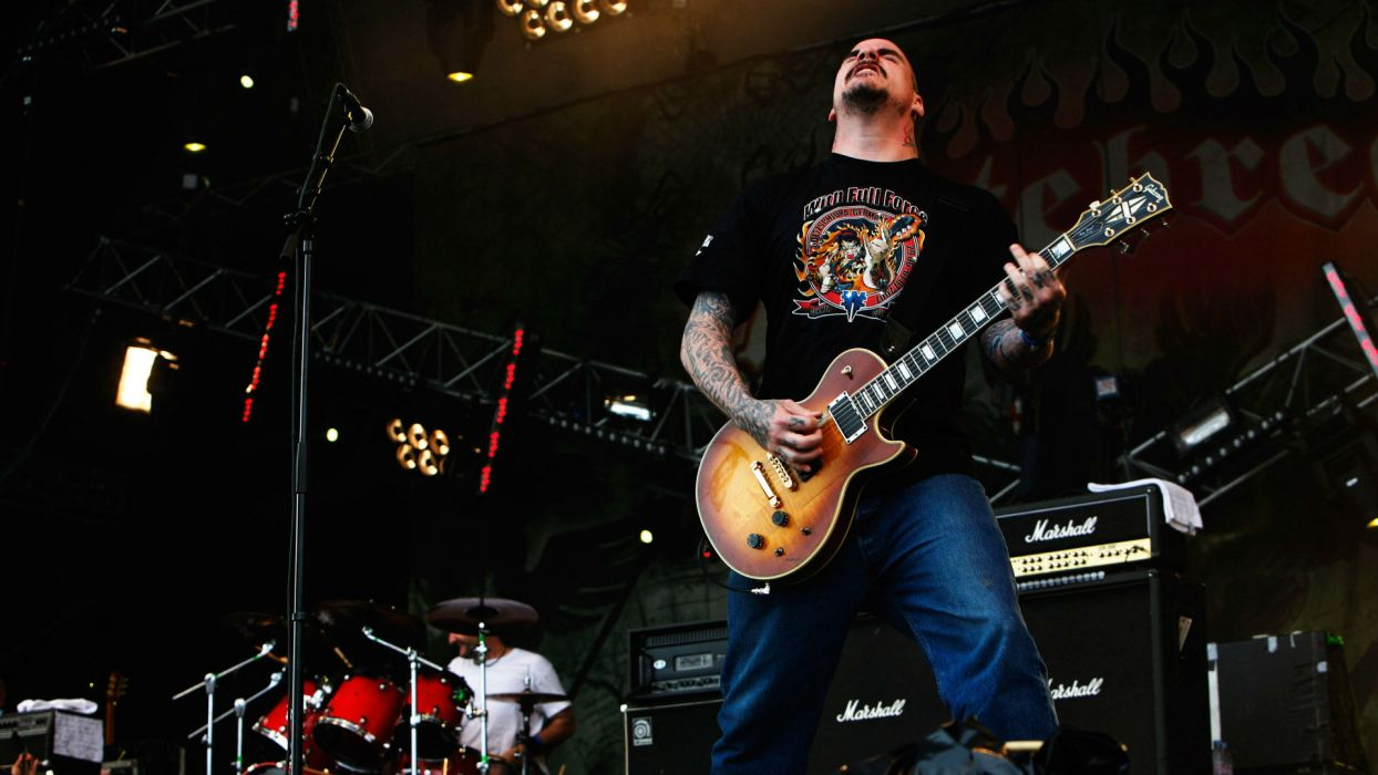 HATEBREED metalcore heavy metal thrash concert guitar wallpaper