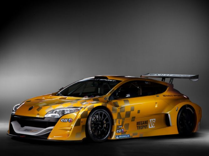 2011 Renault Megane Trophy tuning race racing f wallpaper