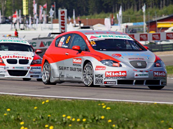 2011 Seat Leon STCC race racing d wallpaper