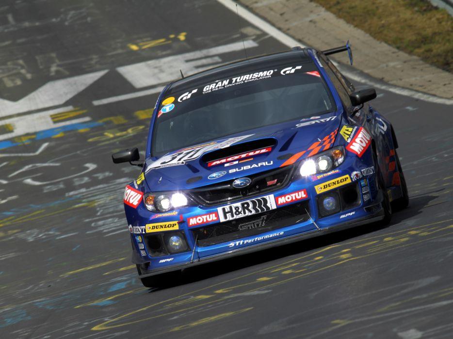 2011 Subaru Impreza WRX STi race racing wallpaper