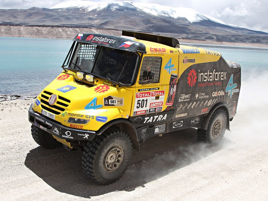 2011 Tatra Yamal Rally Truck offroad 4x4 race racing wallpaper