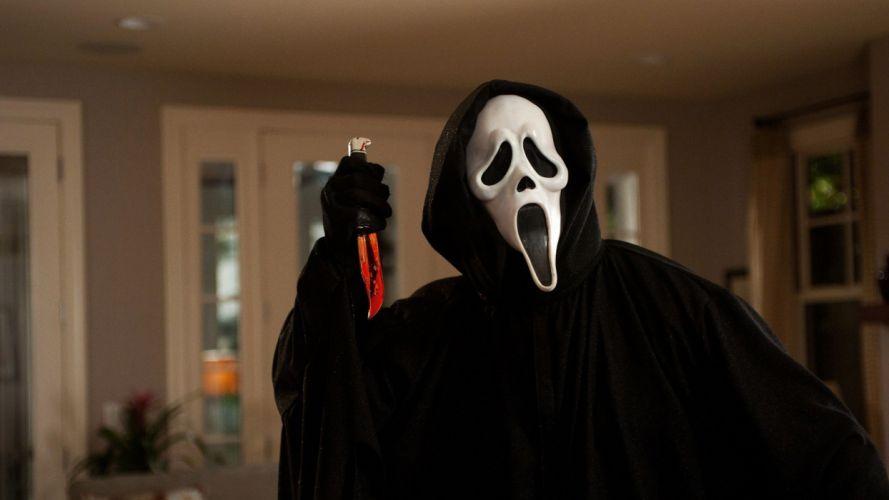 murder mask knife scary movie dark horror wallpaper