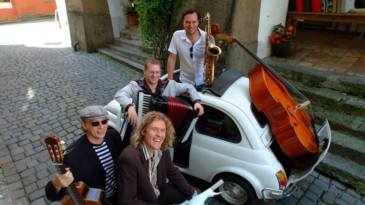 Quadro Nuevo acoustic quartet jazz world    gw wallpaper