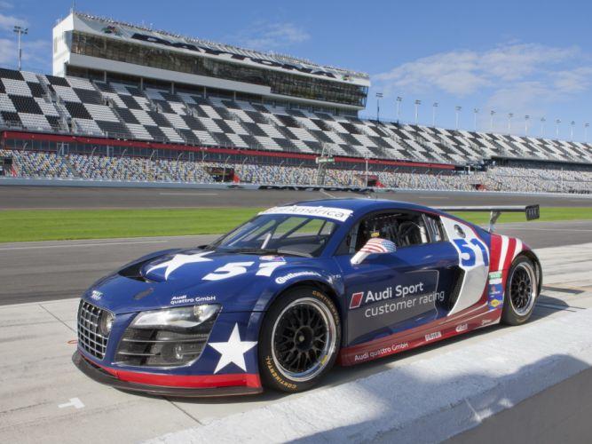 2012 Audi R-8 Grand-Am Daytona 24-Hours race racing h wallpaper