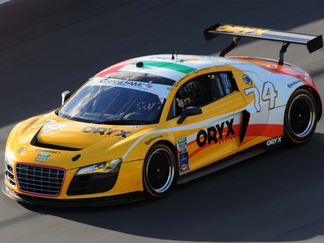 2012 Audi R-8 Grand-Am Daytona 24-Hours race racing h wallpaper