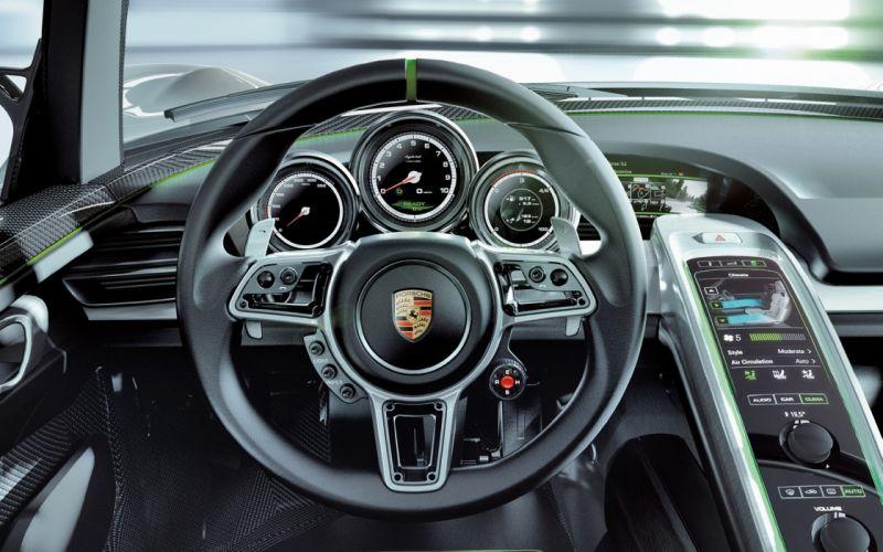Porsche Interior wallpaper