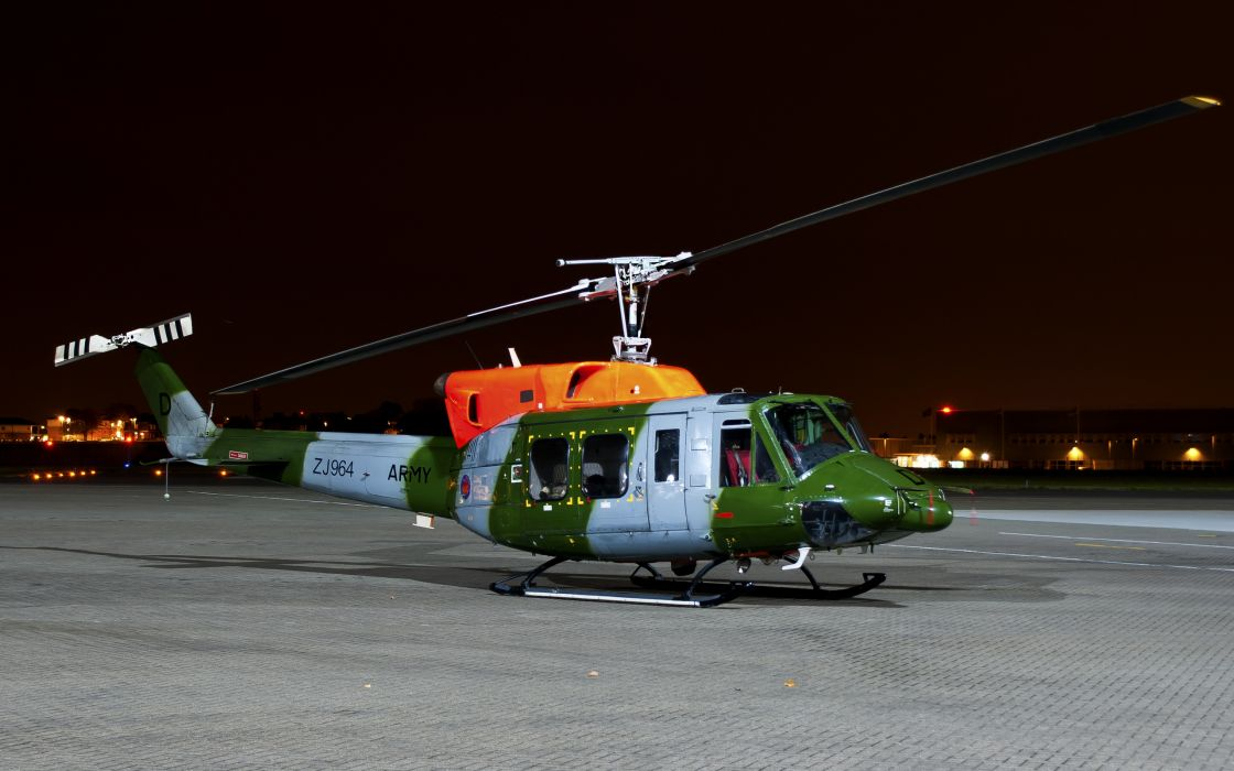 airfield Bell 212 multi purpose helicopter military wallpaper